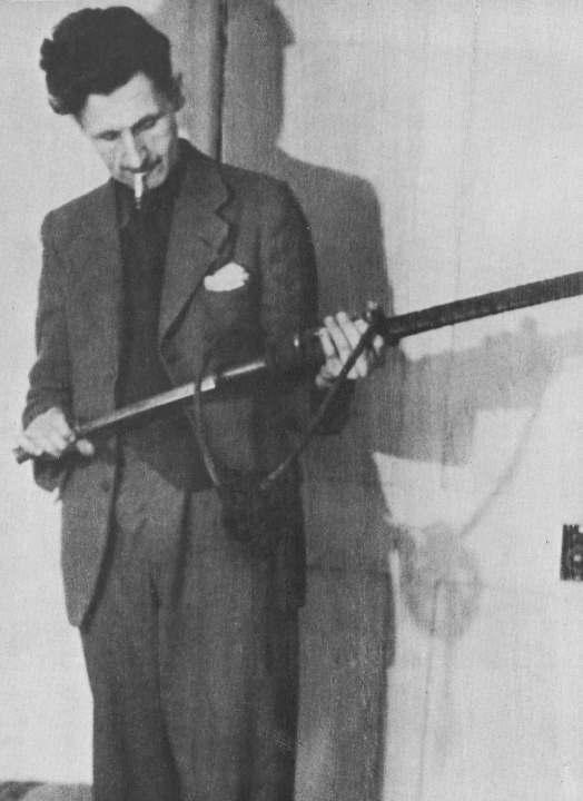 Orwell : journaliste, témoin, militant, analyste et penseur.  Photo DR.