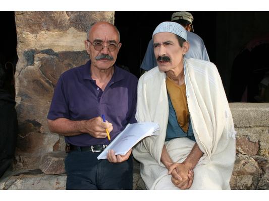 Ali Mouzaoui sur le tournage