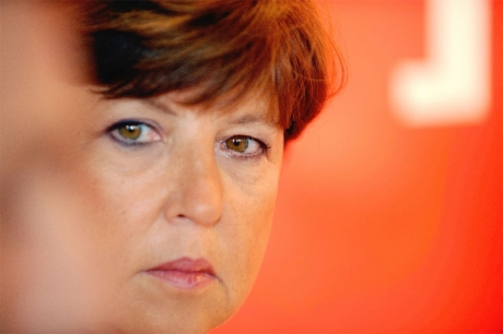 Martine Aubry. Photo Rosereau