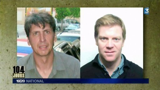 Hervé Ghesquière et Stéphane Taponier, enlevés en Afghanistan le 30 décembre 2009.