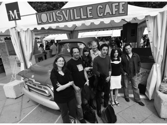 Auteurs américains à Montpellier. Photo David Maugendre