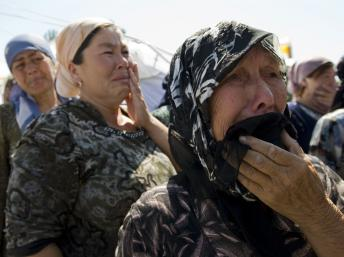 Femmes refugiées Ouzbeck