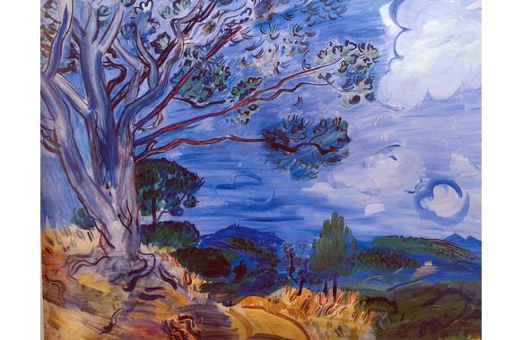 Le grand arbre à Sainte Maxime, 1942