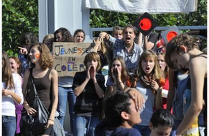 Une occupation symbolique et pacifique. Photo Rédouane Anfoussi