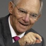 """Pour Wolfgang Schaüble, le ministre allemand des Finances, faire marcher la planche à billets pour soutenir la conjoncture """"ne vaut plus rien""""."""