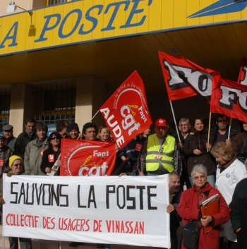 Mobilisation poste. Photo DR Archive