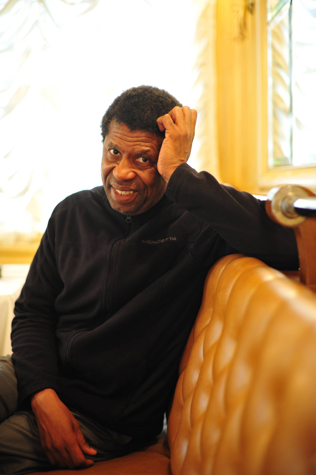 Dany Laferrière. Photo David Maugendre.