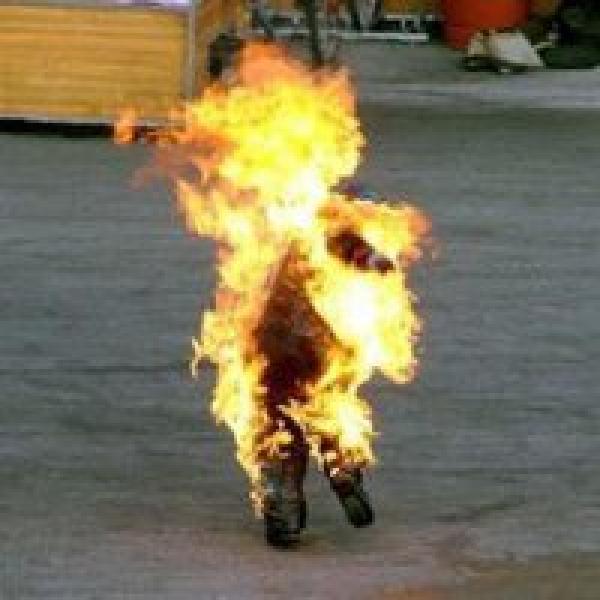 La Tunisie en flammes