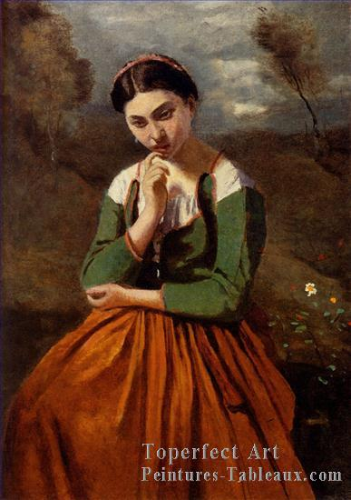 "Corot ""La méditation"""