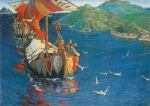 Nicholas_Roerich_Guests_from_Overseas