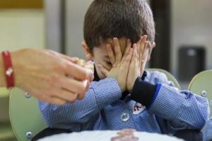 AFP - Le 30 mai 2014, à la cantine d'une école publique de Burgos en Espagne
