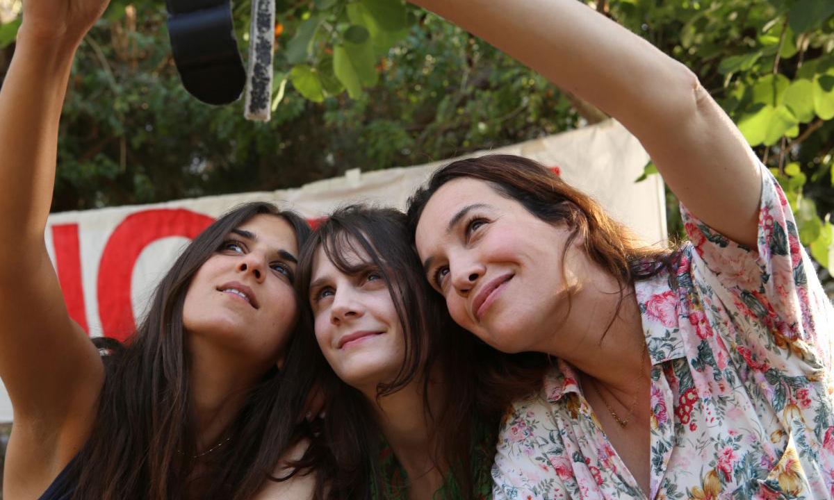 Trois actrices différentes et remarquables. photo dr