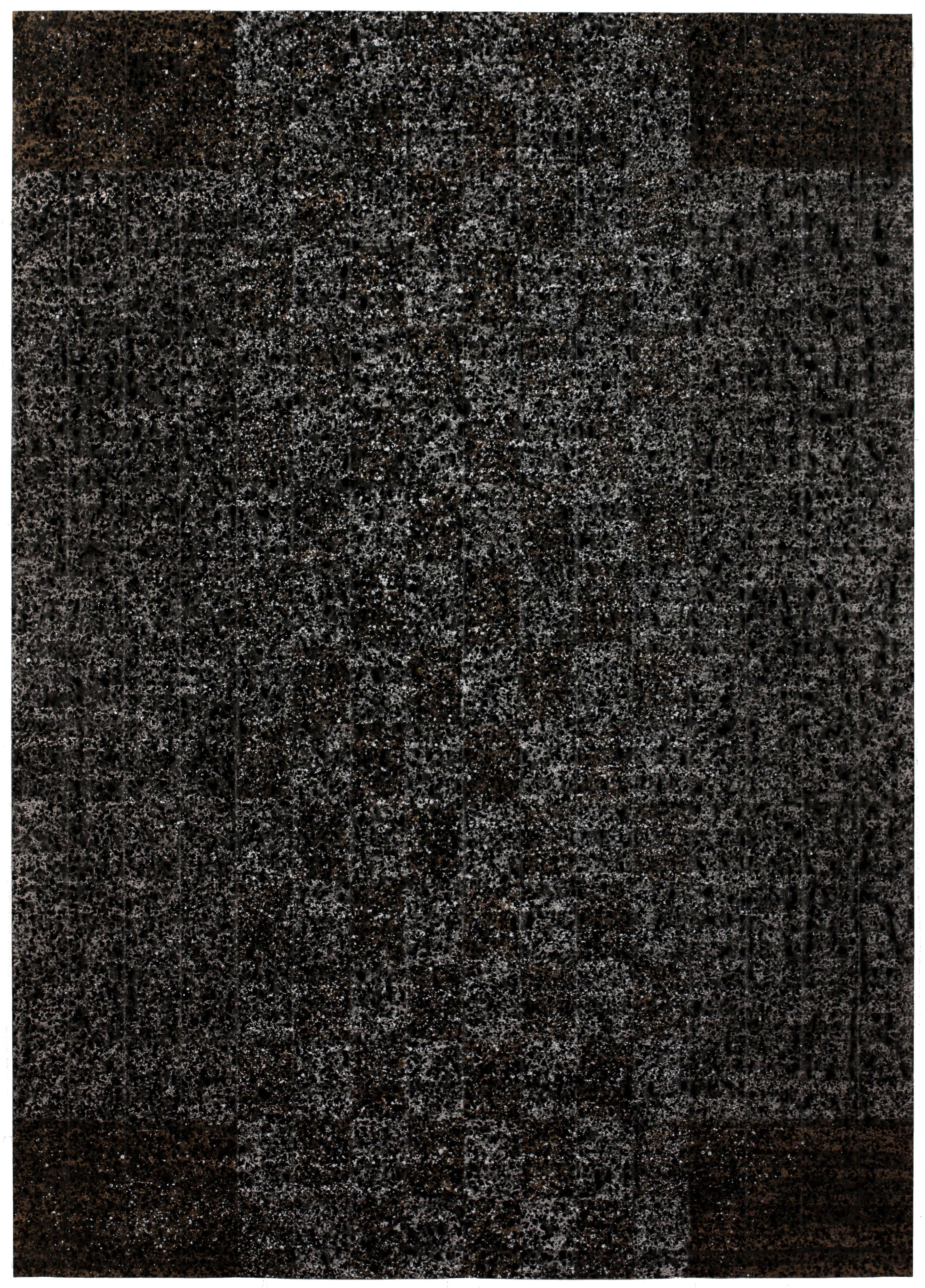 2013, acrylique sur papier kraft, 220 cm x 158 cm