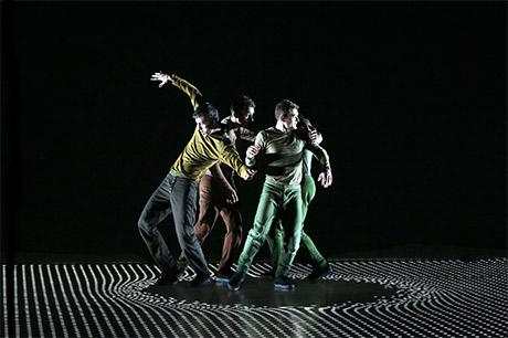 L'énergie du hip-hop transposée dans un espace numérique en 3D. Photo Laurent Philippe