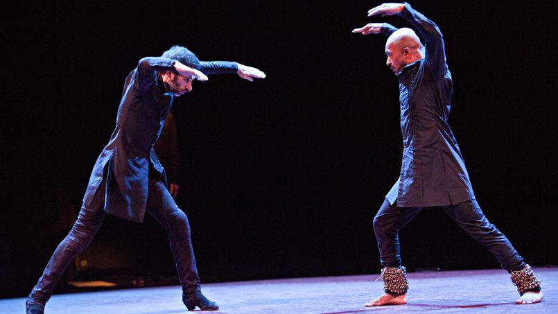 Les deux grands chorégraphes Israel Galvan et Akram Khan.