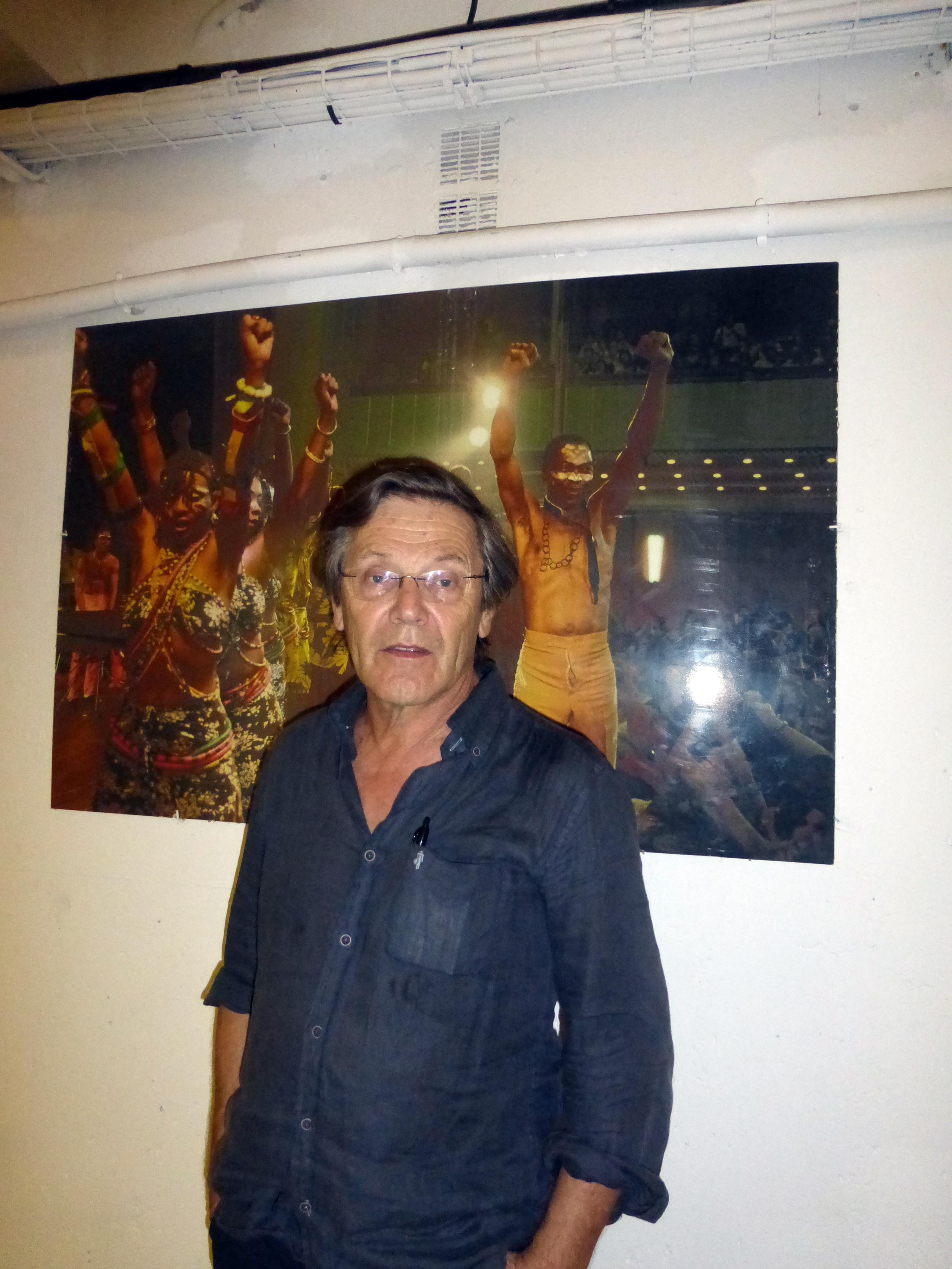 Franck Tenaille dans les coulisses de Fiest'A Sète