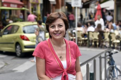 Carole Delga, en juin 2015 à Toulouse (PASCAL PAVANI/AFP)