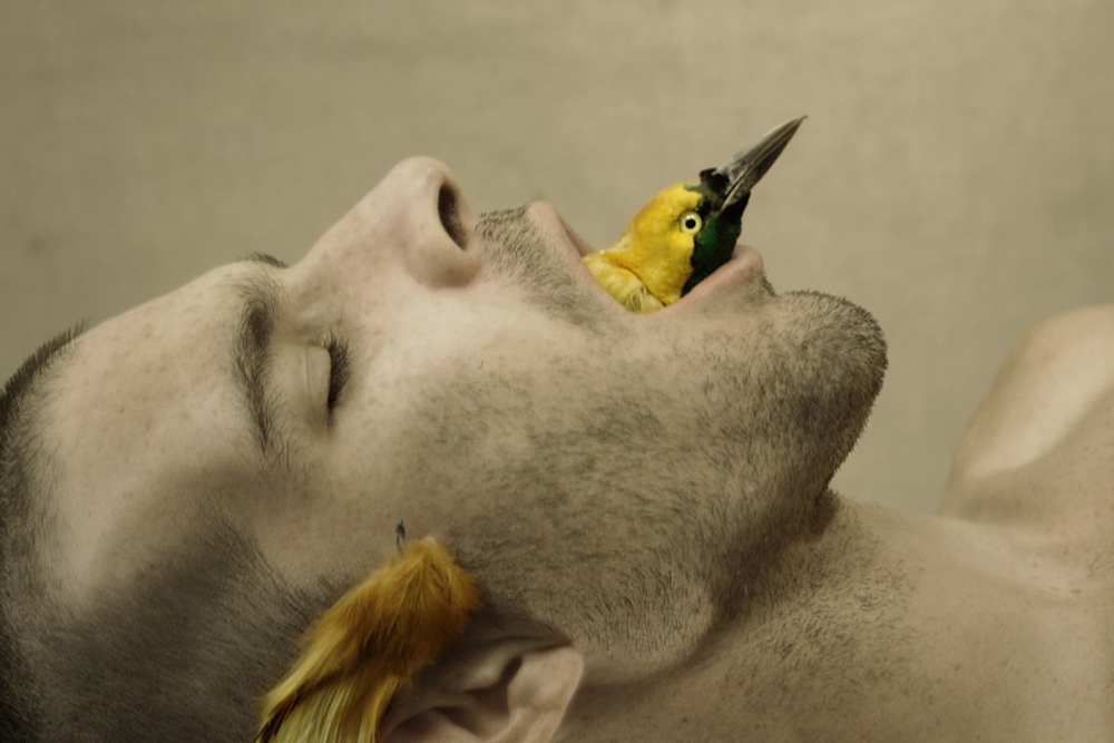 Autoportrait de Julien Salaud.  L'outsider français ne sera pas présent à la FIAC.