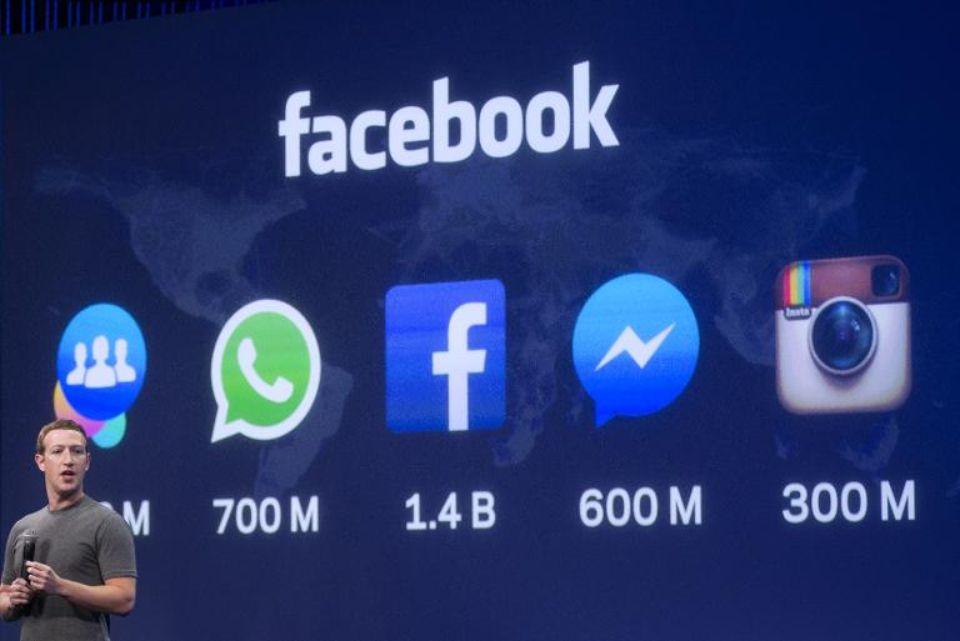 Le PDG de Facebook, Mark Zuckerberg, à San Francisco, en mars. (Photo Josh Edelson. AFP)
