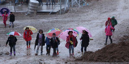 Des réfugiés irakiens. AZAD LASHKARI / REUTERS