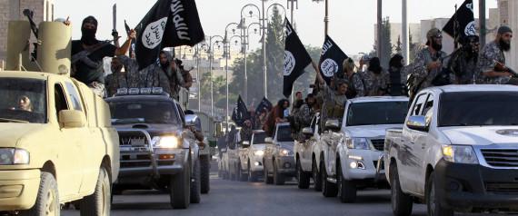 isis Sur cette photo, les combattants de l'Etat islamique défilent en Syrie. (Reuters)
