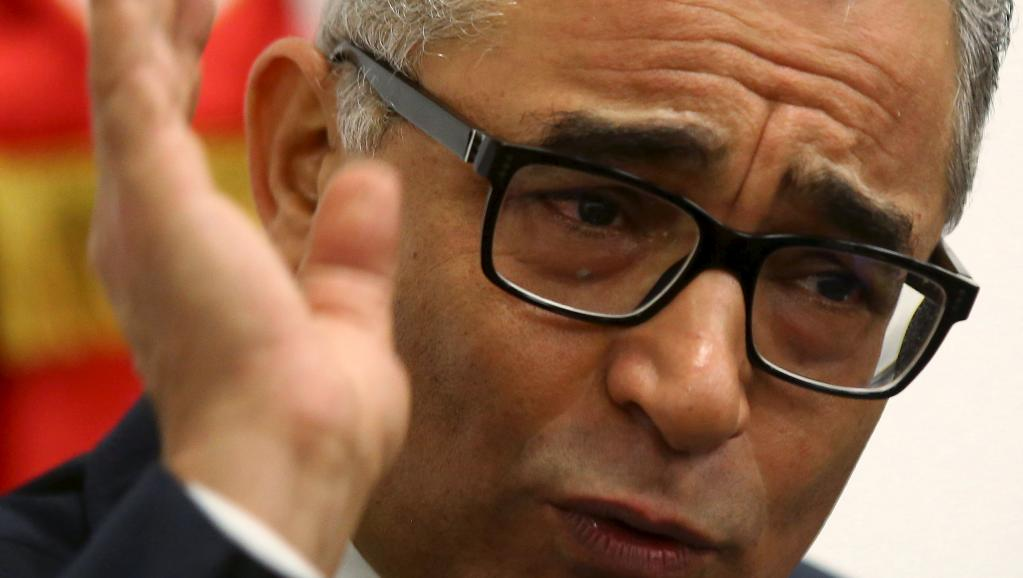 Mohsen Marzouk, le secrétaire général de Nidaa Tounes, a annoncé ce mercredi 6 janvier 2016 qu'il allait rompre avec son parti et en créer un autre. © REUTERS/Amine Ben Aziza