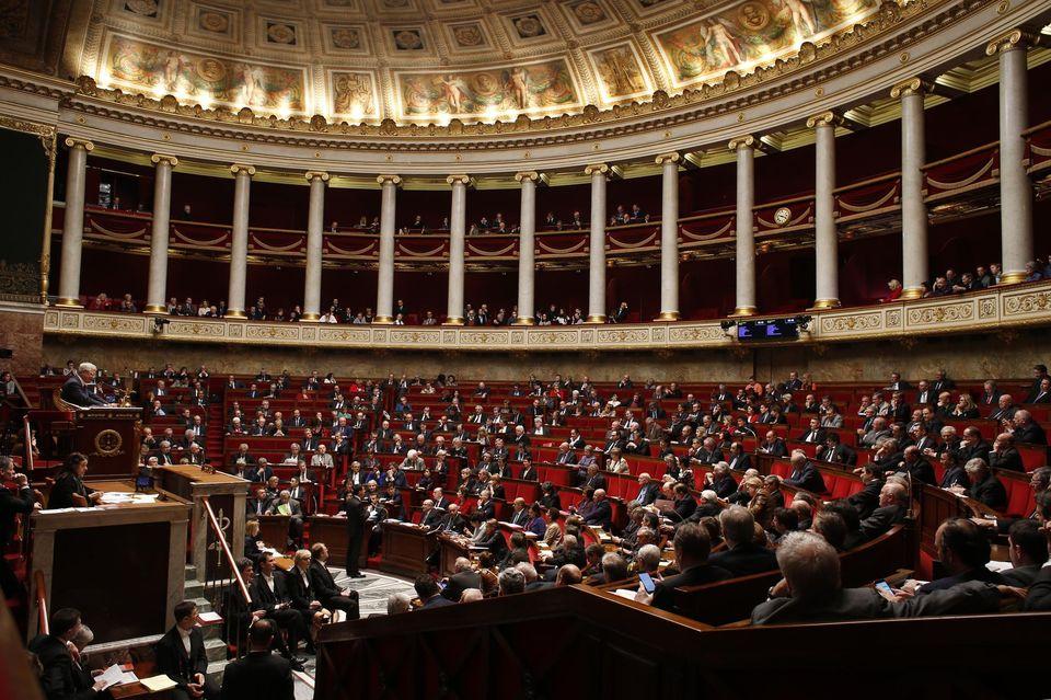 L'Assemblée était beaucoup moins pleine que ça, lundi soir. Photo : Thomas Samson. AFP