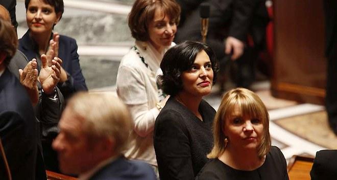 Myriam El Khomri, ministre du Travail - Denis Allard/REA