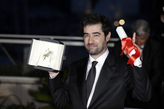 L'acteur Shahab Hosseini au 69e Festival de Cannes, le 22 mai 2016.