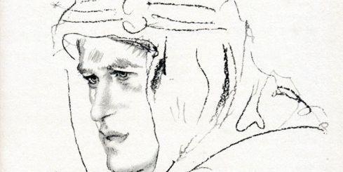Thomas Edward Lawrence (Lawrence d'Arabie) : autoportrait pour son livre autobiographique «Les Sept Piliers de la sagesse». © AFP/THE ART ARCHIVE