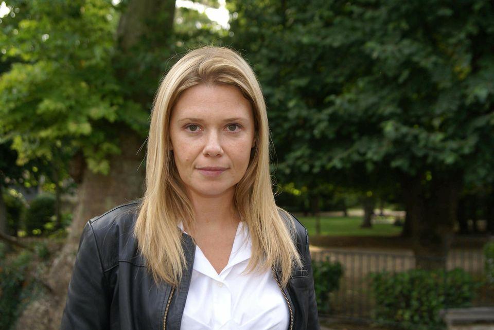Aude Lancelin (ici en 2008) a été nommée numéro 2 de «l'Obs» en 2014. Photo Frédéric Myss. Opale.