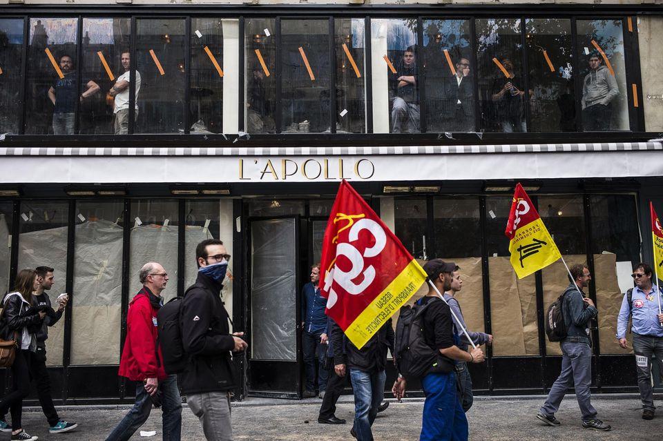 Paris, le 14 juin 2016. Manifestation contre la loi travail. Photo Albert Facelly pour Libération