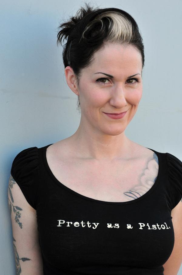 Christa Faust auteur US à découvrir à Frontignan  Crédit Photo dr