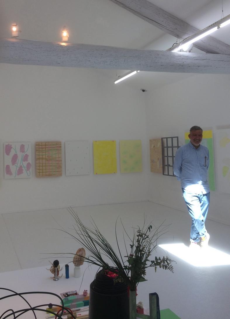 Bruno Peinado au MRAC à Sérigan