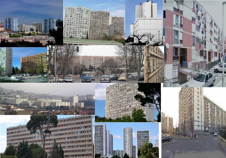 cité Kallisté, dans les quartiers nords de Marseille