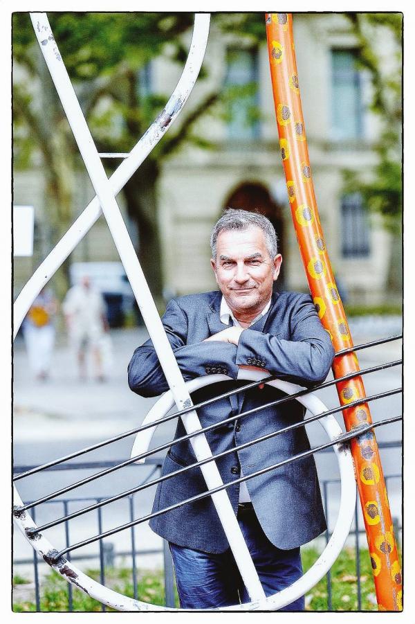 Jean-Pierre Rousseau à temps plein sur le festival qui ouvre lundi avec « Les mille et quelques nuits » Photo Marc Ginot L'utilisation de l'article, la reproduction, la diffusion est interdite - LMRS - MARC GINOT