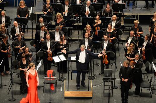 Le public conquis par le concert inaugural  Crédit Photo Marc Ginot