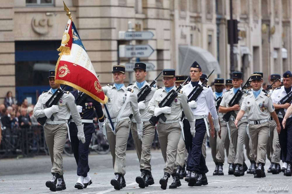: Défilé de troupes françaises, par Luc Lagarde/Flickr