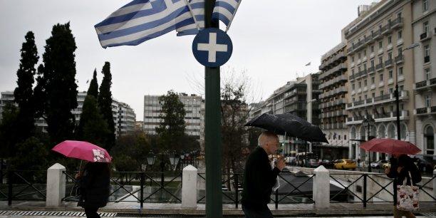 La Grèce a remboursé la BCE, mais va toujours aussi mal. (Crédits : Reuters)