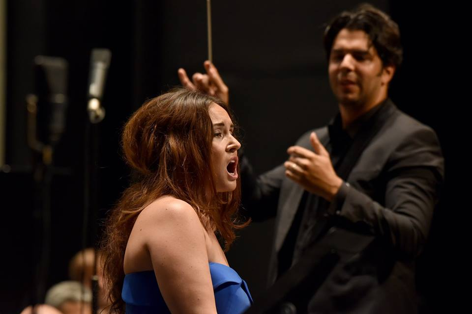 Sonya Yoncheva  opéra de clôture du festival Iris de Mascagni .  marc Ginot