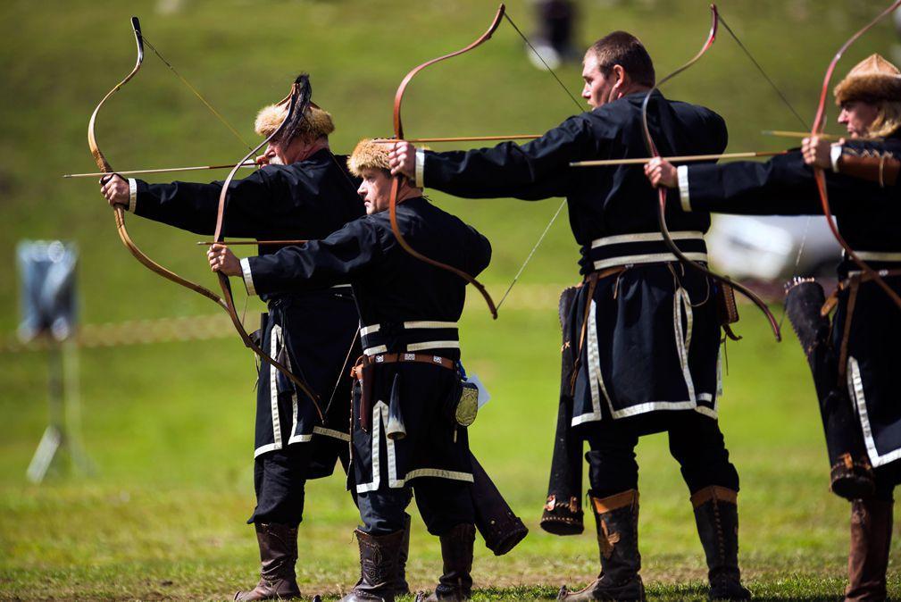 Les-archers-en-action.
