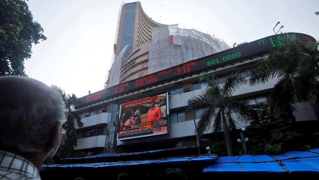 Dans les rues de Bombay, fin septembre 2016. Reuters