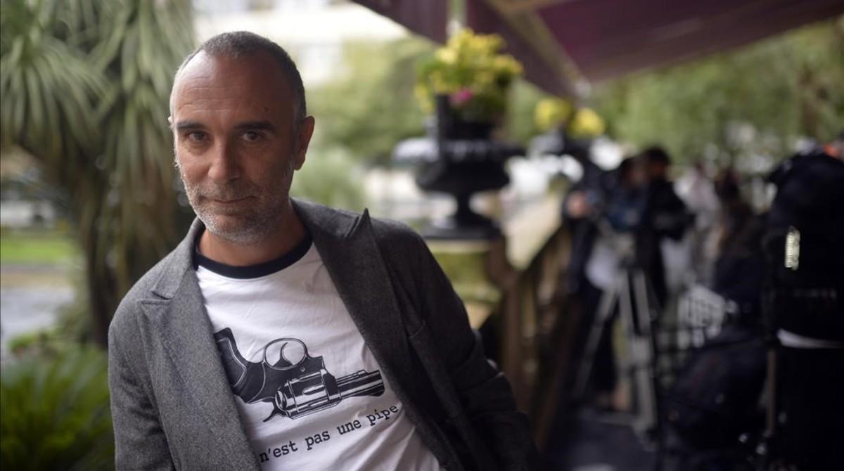 """Jo Sol évoque son film en compétition  """"Vivre et autres fictions"""".   Photo dr"""