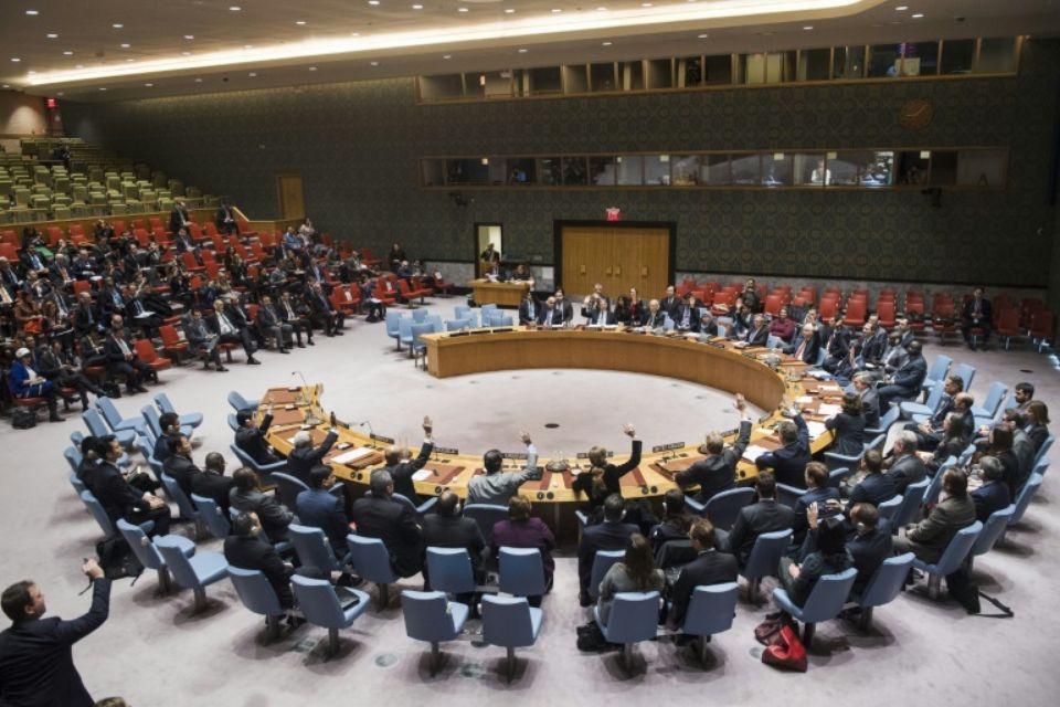 Le Conseil de sécurité de l'ONU se prononce sur un texte demandant à Israël de cesser toute activité de colonisation Photo Amanda VOISARD. AFP