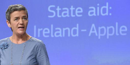 La commissaire européenne à la Concurrence, la Danoise Margrethe Vestager. © afp/John Thys