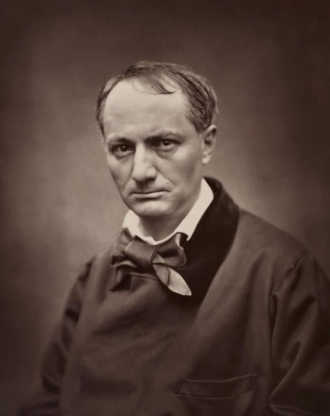 Etienne Carjat portrait of  Charles Baudelaire 1862