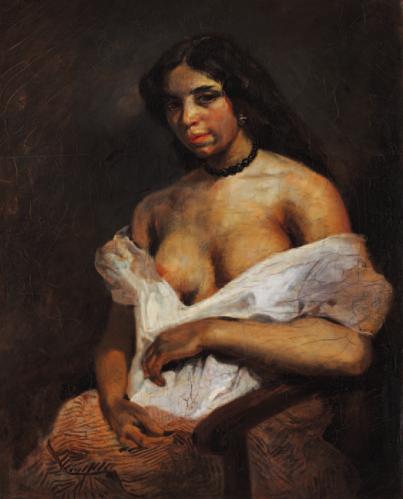 Aspasie E. Delacroix musée Fabre photo dr