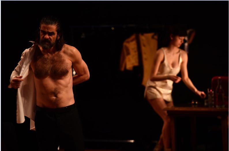 Jan Lauwers?: «?Qu'il est beau l'échec de la langue au théâtre?!?» Photo marc Ginot