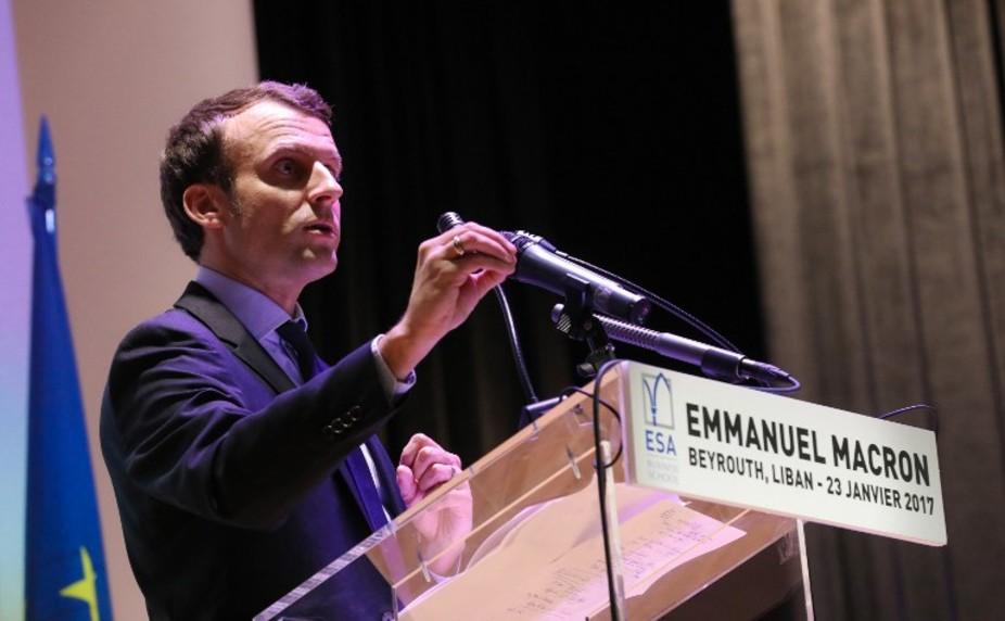 Un candidat qui construit sa stature internationale à coup de déplacements à l'étranger. Anwar Amro/AFP