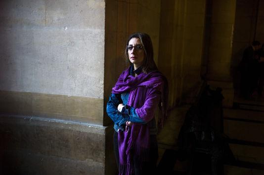 Nora Fraisse, la mère de Marion Fraisse, au tribunal, à Paris, le 14 novembre 2013. FRED DUFOUR / AFP